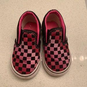 Checkered Toddler Vans